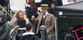 Tobey Maguire : Photos du tournage de Gatsby le magnifique