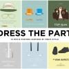 10 affiches de films représentées par des vêtements