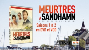 Jeu concours DVD : MEURTRES A SANDHAMN – SAISONS 1 & 2