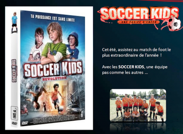 Jeu concours Soccer Kids
