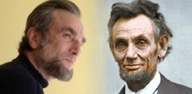 Daniel Day-Lewis dans le look d'Abraham Lincoln pour Steven Spielberg
