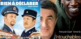 Intouchables et Rien à déclarer devant les films américains