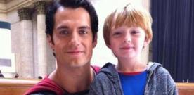 Superman : Man Of Steel : image issue du tournage avec Henry Cavill