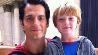 Superman : Man Of Steel : image issue du tournage avec Henry Cavill