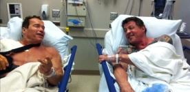 Expendables 2 : Schwarzenegger et Stallone à l'hôpital