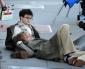 Daniel Radcliffe sur le tournage du film Kill Your Darlings