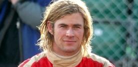Chris Hemsworth en photo sur le tournage du film Rush