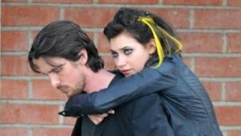 Photos du tournage de Knight Of Cups avec Imogen Poots et Christian Bale