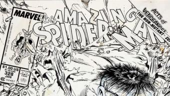 Pour 675 250 $, une couverture de comics Spider-Man