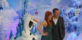 Tapis rouge de La Reine des Neiges à Disneyland Paris !