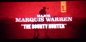 Premier teaser pour The Hateful Eight