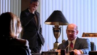 Un fumeur et un chauve dans X-Files