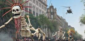 Premières images de Spectre au Mexique