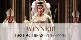 Tony 2015 : les reines Elizabeth portent encore chance à Helen Mirren