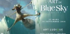Exposition Blue Sky Studios à Art Ludique