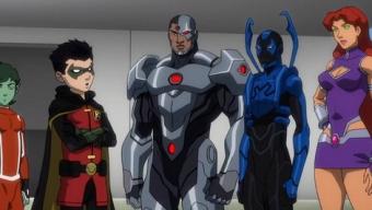 Test Blu-ray : La Ligue des justiciers vs. les Teen Titans