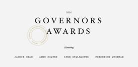 Les Oscars d'honneur 2016