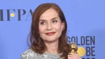 Isabelle Huppert en route vers les Oscars