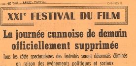 Cannes 70 : 1968, l'autre festival qui n'a pas eu lieu