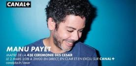 César 2018 : Manu Payet maître de cérémonie
