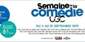 Semaine de la Comédie UGC 2019 : vingt comédies à partir de 4 € la séance