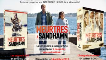 Jeu concours DVD : MEURTRES A SANDHAMN – SAISONS 8 & 9 + INTÉGRALE