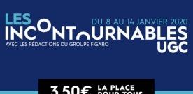 Les Incontournables UGC 2020 : 23 films à 3€50 la place